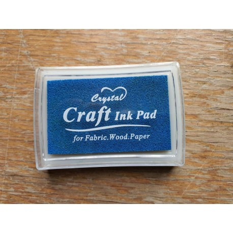 Crystal Craft Washable Ink Pads £1.50 (£1.25 ordered with Custom Name Stamp)