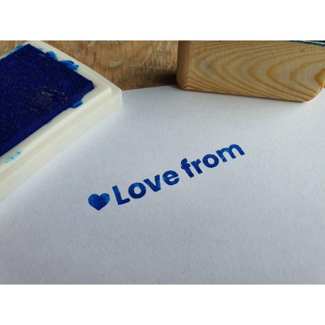 Rubber Accessory Stamp £7.50 (£5.00 ordered with name stamp)